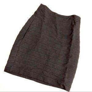 Express Fitted Mini Tube Skirt